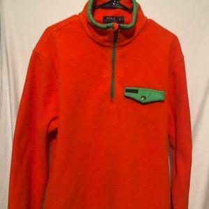 POLO Ralph Lauren Orange Blaze Half  Jacket $145
